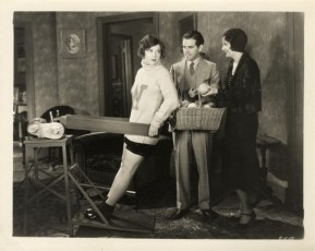 With Frank Capra and Marie Prevost