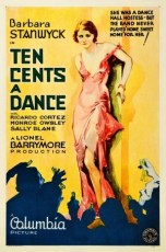 Ten Cents a Dance (1931) Film Poster