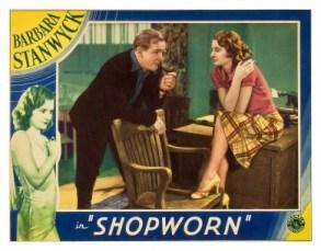 Shopworn (1932) Lobby Card
