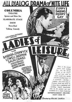 Ladies of Leisure (1930) | Barbara Stanwyck