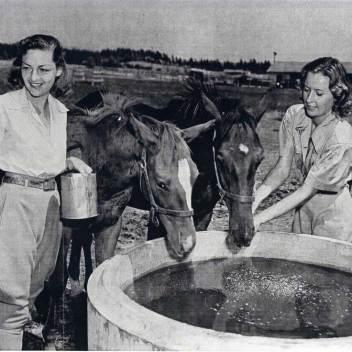 Barbara and Marion