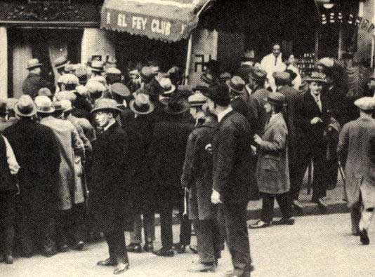 El Fay Club around the time Ruby Stevens