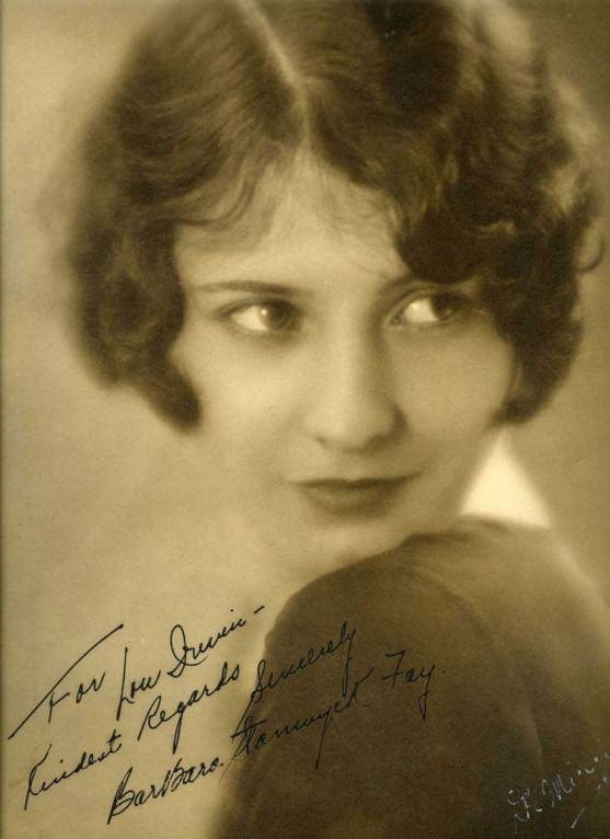 Barbara Stanwyck Fay