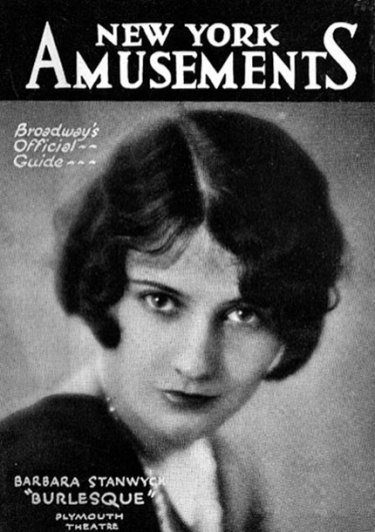 Stanwyck on the Cover of a NY Magazine