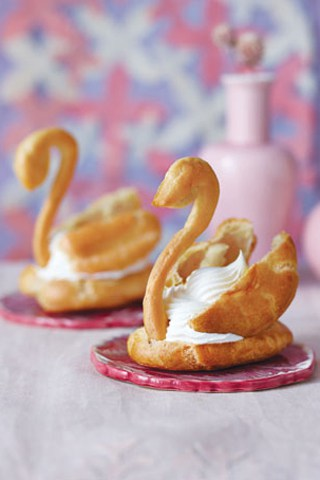 Pate a Choux Templates for Cream Puffs and Eclairs