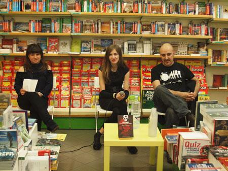 Marilu Oliva, Barbara Baraldi e Gianluca Morozzi - foto di Eugenio Saguatti
