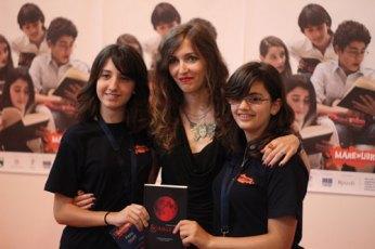 Post incontro: Insieme alle intervistatrici delle scuole medie
