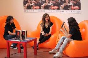 Intervista da parte delle volontarie di Un Mare di libri
