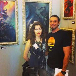 FFF la mostra con gli originali di Lucio, tra cui la copertina di Making of Aurora