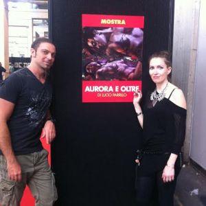 Io, Lucio e la mostra dedicata ad Aurora