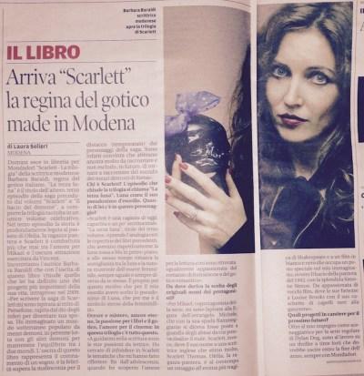 Baraldi-Scarlett-Gazzetta di Modena 19-1-2015