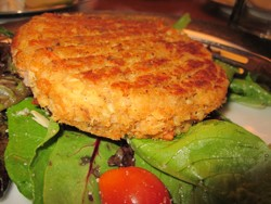 Healthy 5 Ingredient Salmon Patty