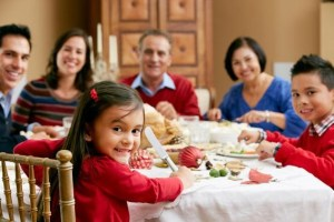 Family meals intergenerational stock.