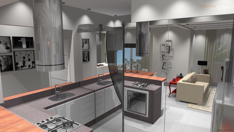 Armario Cozinha Canto  Barbara Borges Projetos