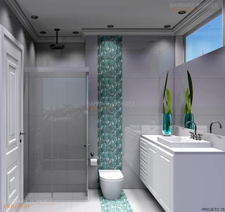 Banheiro Simples  Barbara Borges Projetos
