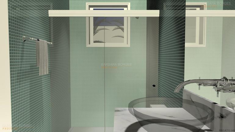 Banheiros Pequenos Bonitos  Barbara Borges Projetos