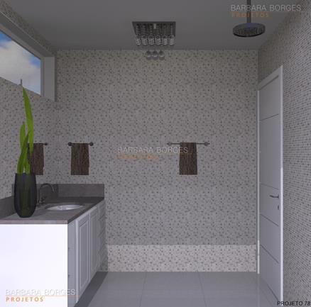Banheiros Simples  Barbara Borges Projetos
