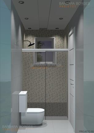 Fotos Banheiros Pequenos  Barbara Borges Projetos