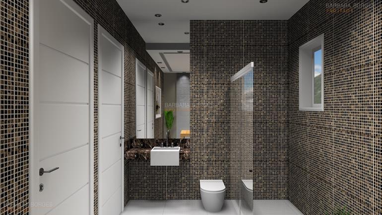 Modelo Banheiros  Barbara Borges Projetos