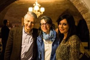 Con Alfonso Berardinelli e Annalisa Comes