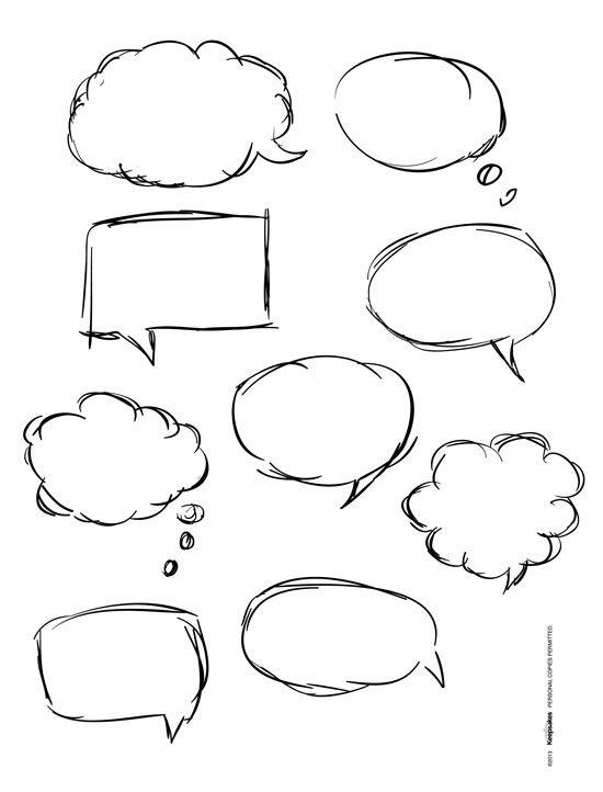Short Story: The Empty Speech Bubble ⋆ Barbara Brutt
