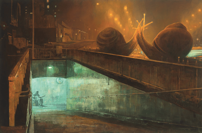 la ciudad latente, shaun tan