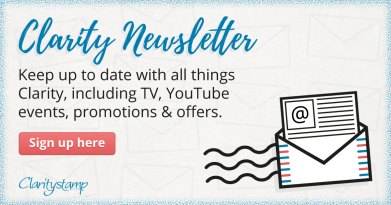 Claritystamp Newsletter sign up form graphic