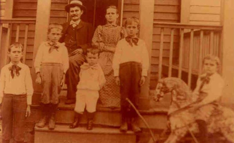 Five of Nine Breitenstein Brothers