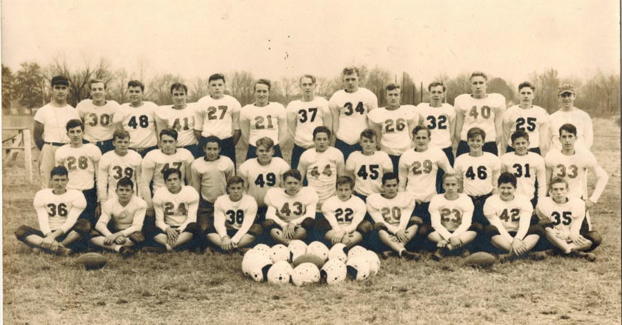 Okolona High School Football Team  1940s Photograph