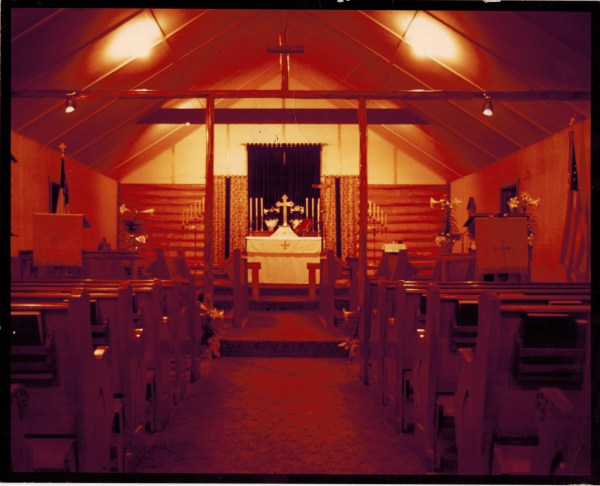 Log Cabin Church – Candlelight View
