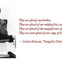 "Poem for Today: Carlos Bulosan, ""Song for Chris Mensalvas Birthday"""