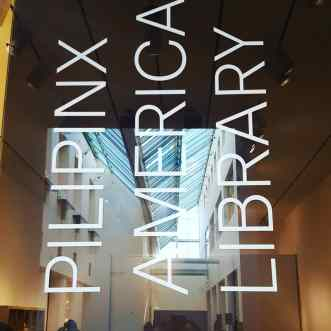 Pilipinx American Library at the Asian Art Museum