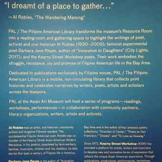 "Pilipinx American Library: ""I dreamt of a place to gather…"""