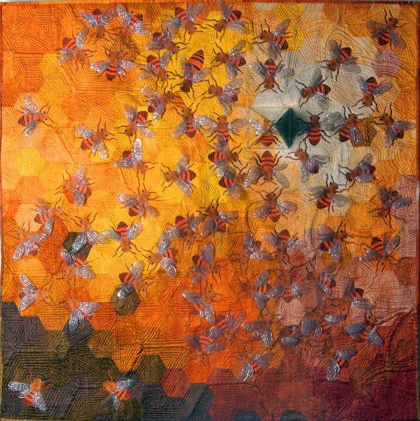 Gesamtansicht bienenkoenigin by Barbara Lange