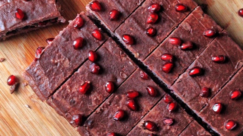 Bolo de Frutos Vermelhos e Chocolate