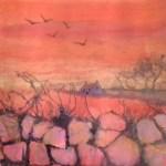 426 sunset hedge in orange