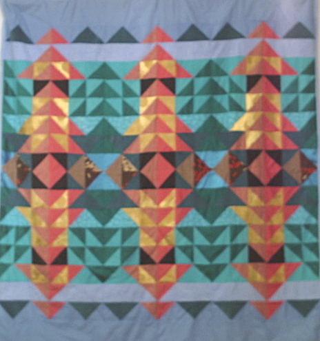 pagoda quilt