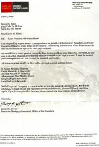 Mortgage Denial Letter Sample