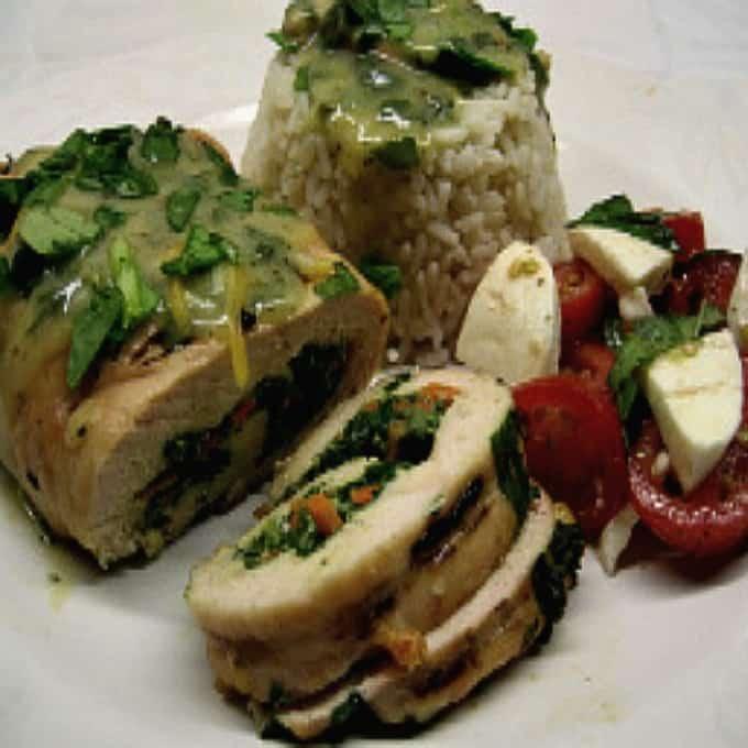 Italian Chicken Roll