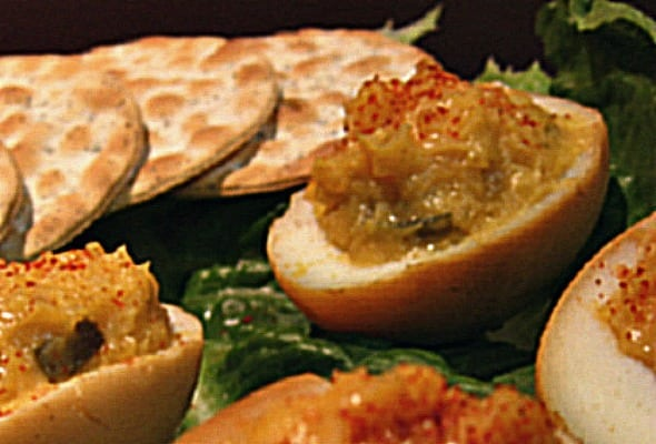 Smoky Devilish Eggs