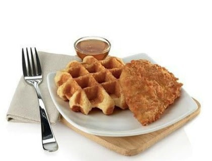 Chick Fil-A Chicken and Waffles
