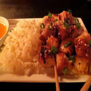 Grilled Asian Orange Chicken
