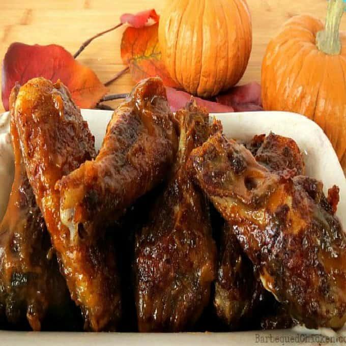 Pumpkin Pie Chicken Wings