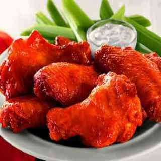 Oven Baked Buffalo Wings