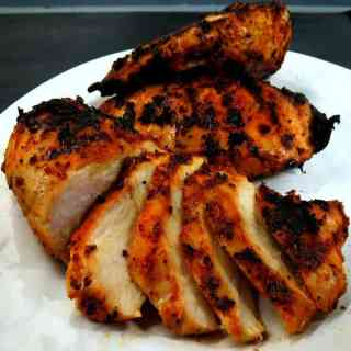 Grilled Blackened Chicken