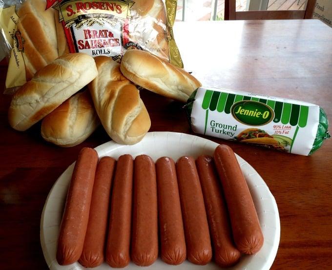 Brazilian Hot Dog Ingredients