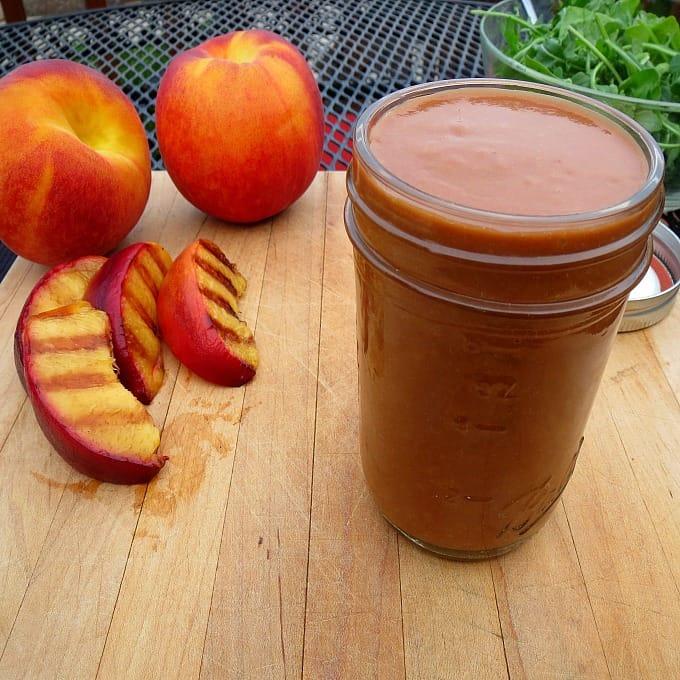 Peach Vinaigrette