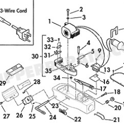 Barber Shave Diagram 1999 Saturn Sl2 Alternator Wiring Replacement Parts For Andis Clipper - Supplies