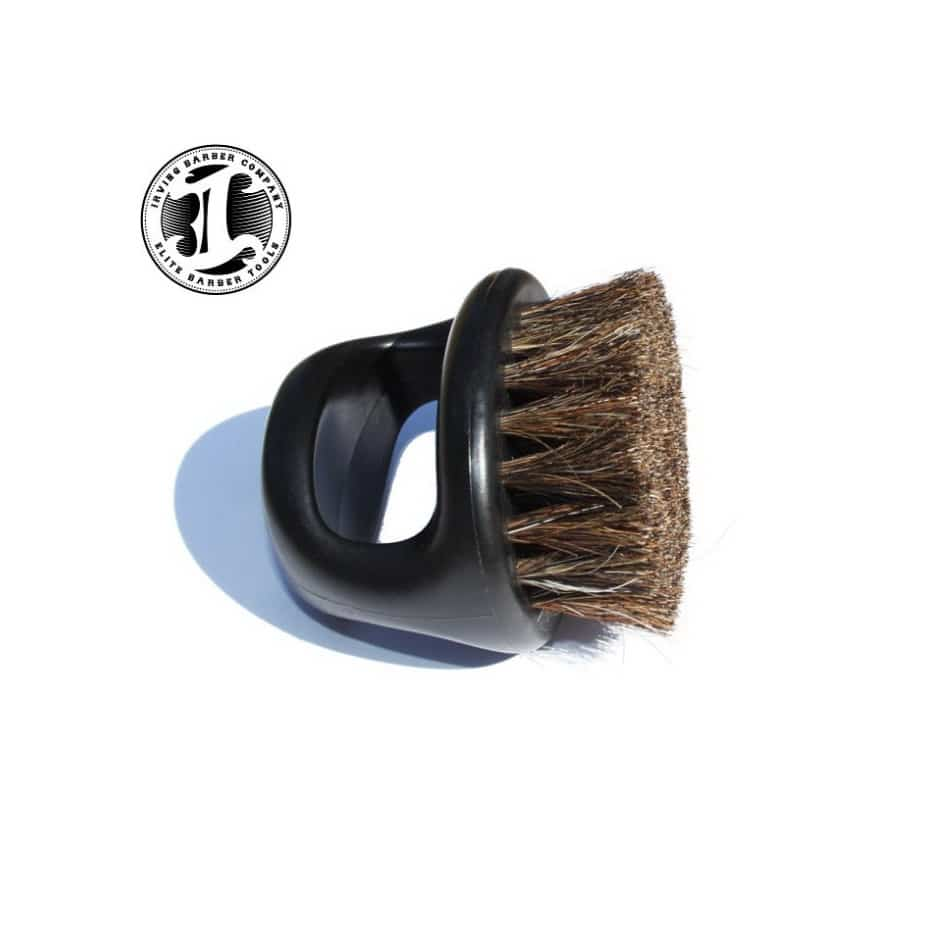 Irving Barber Company Boar Bristle Brush  Black or White