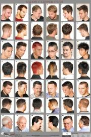 07wm - mens hairstyle guide poster